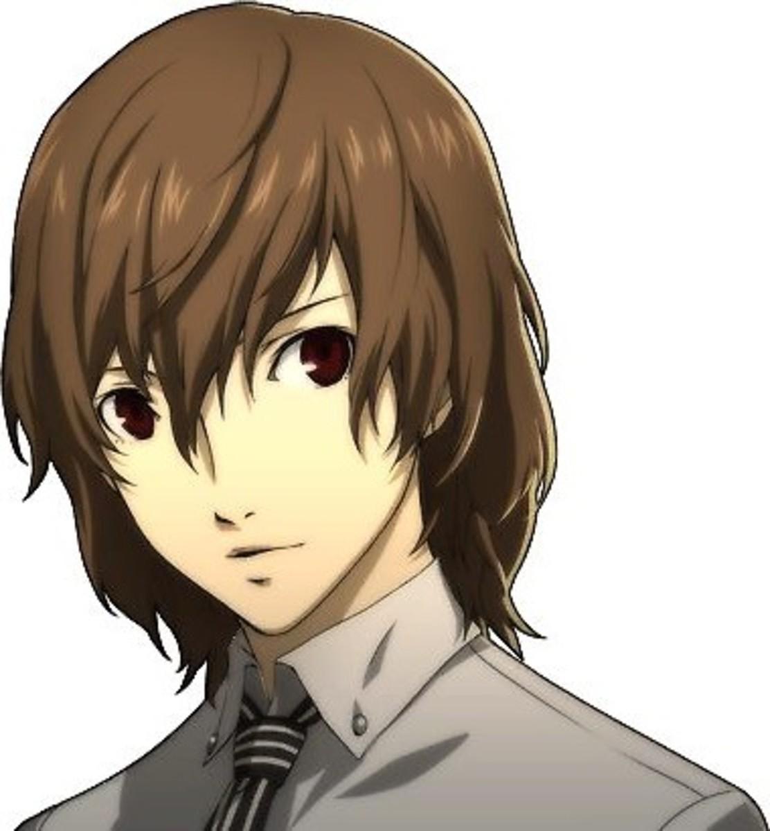 Goro Akechi in Persona 5