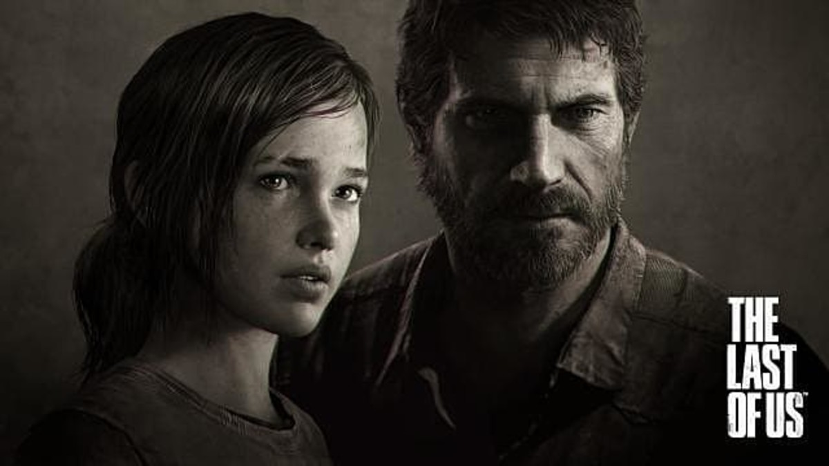 Ellie and Joel in The Last of Us