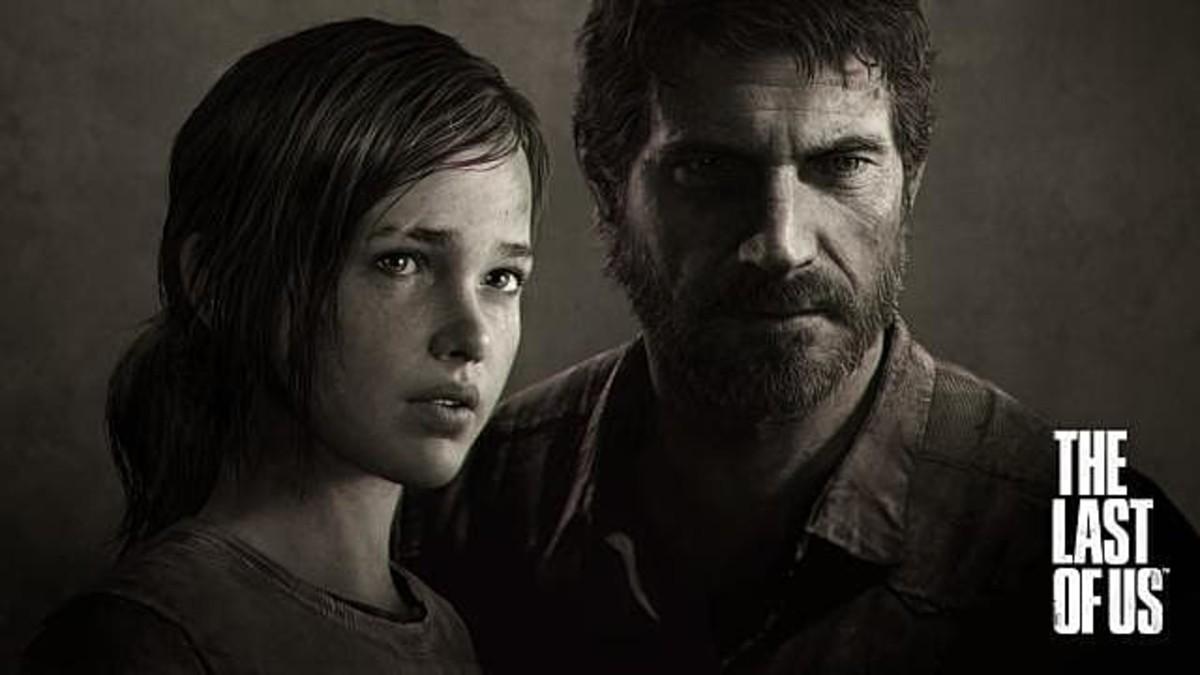 Ellie and Joel in The Last of Us