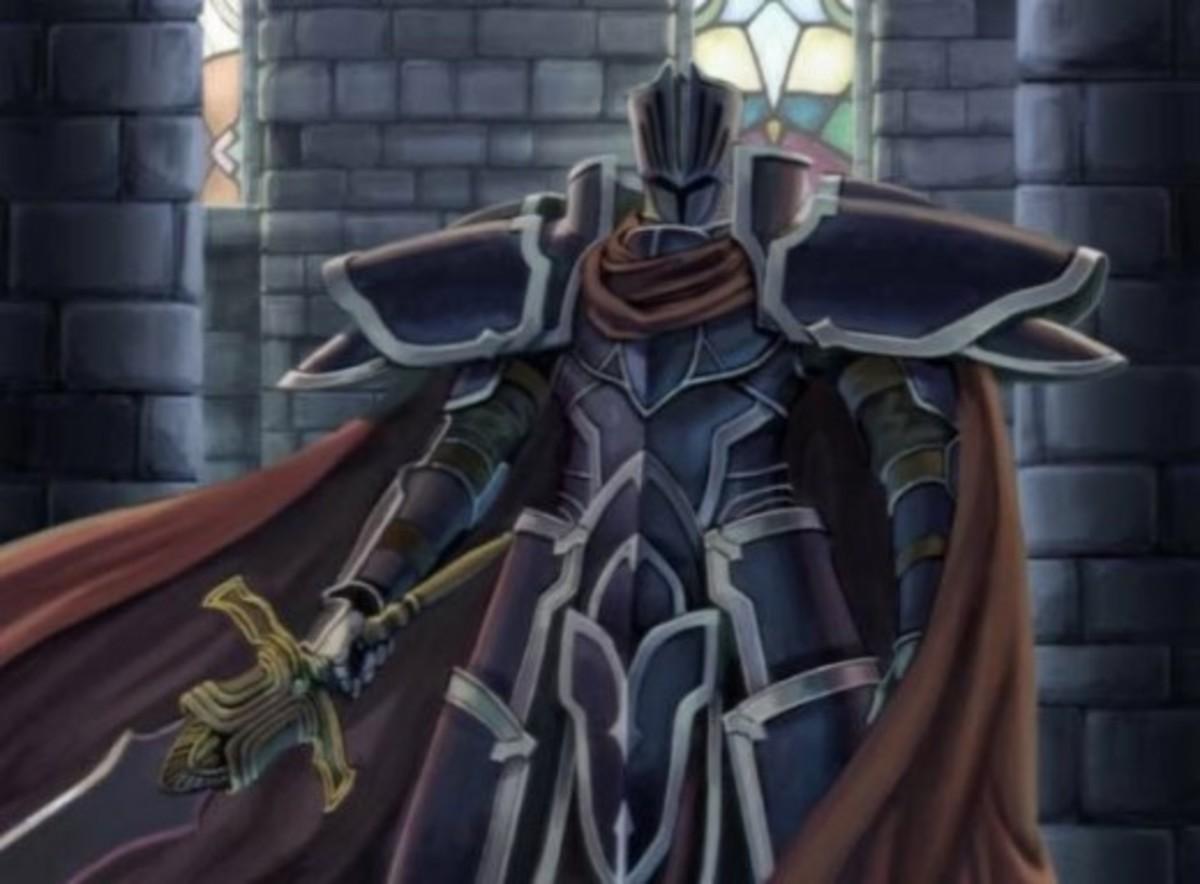 The Black Knight in Fire Emblem