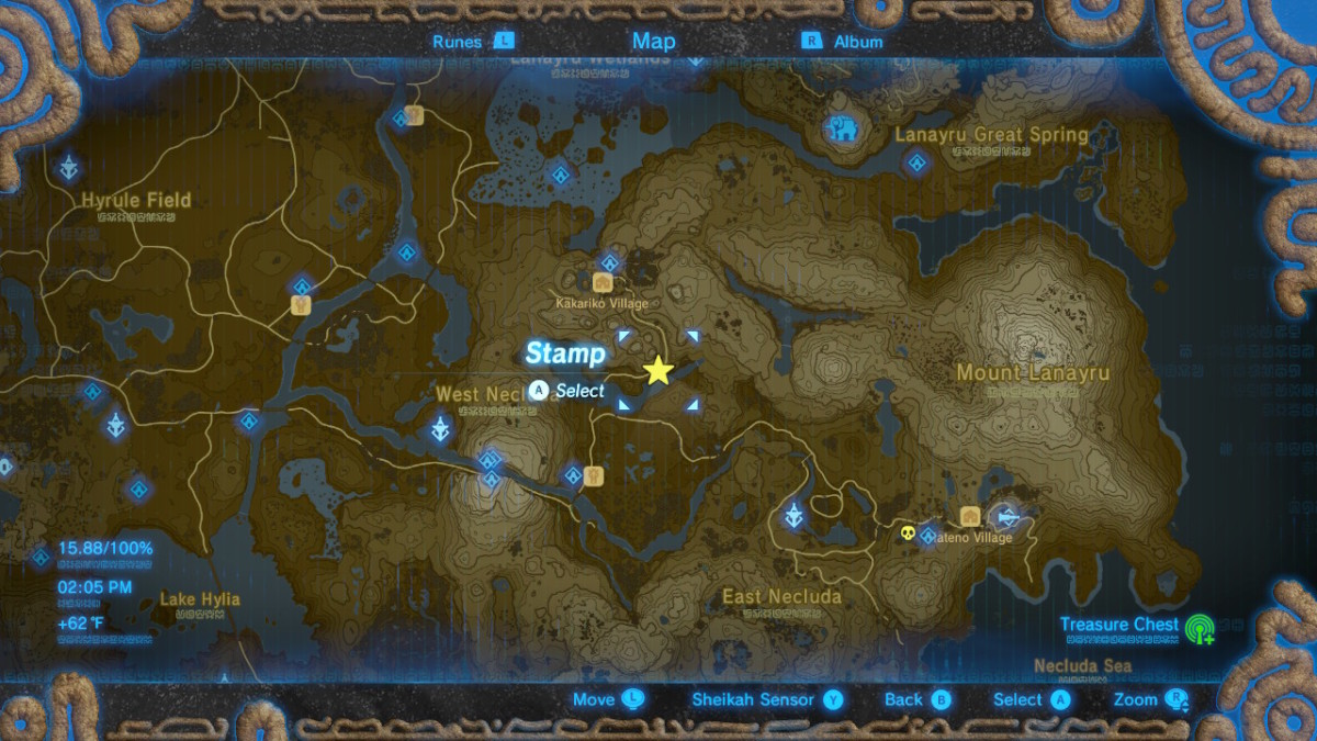 All Hestu Locations In The Legend Of Zelda Breath Of The Wild Levelskip Video Games