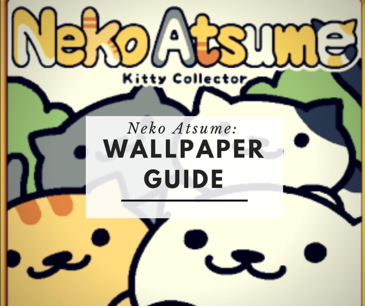 Neko Atsume: Wallpaper Guide