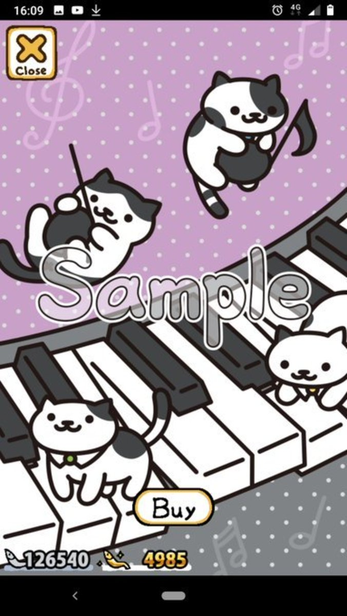Wallpaper number 22: Piano Cats