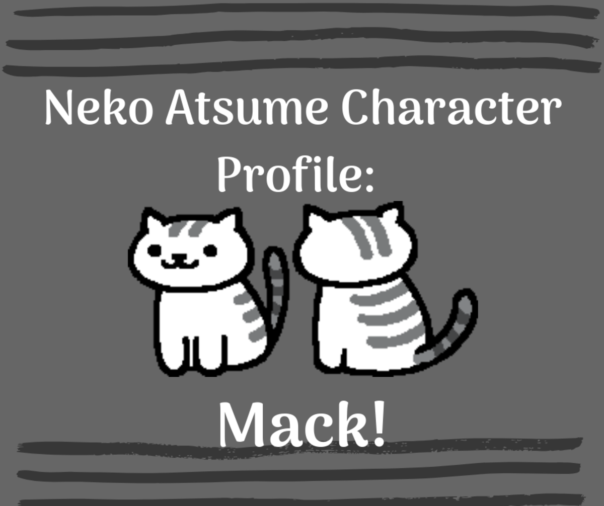 "Learn all about the striped kitty Mack in ""Neko Atsume."""