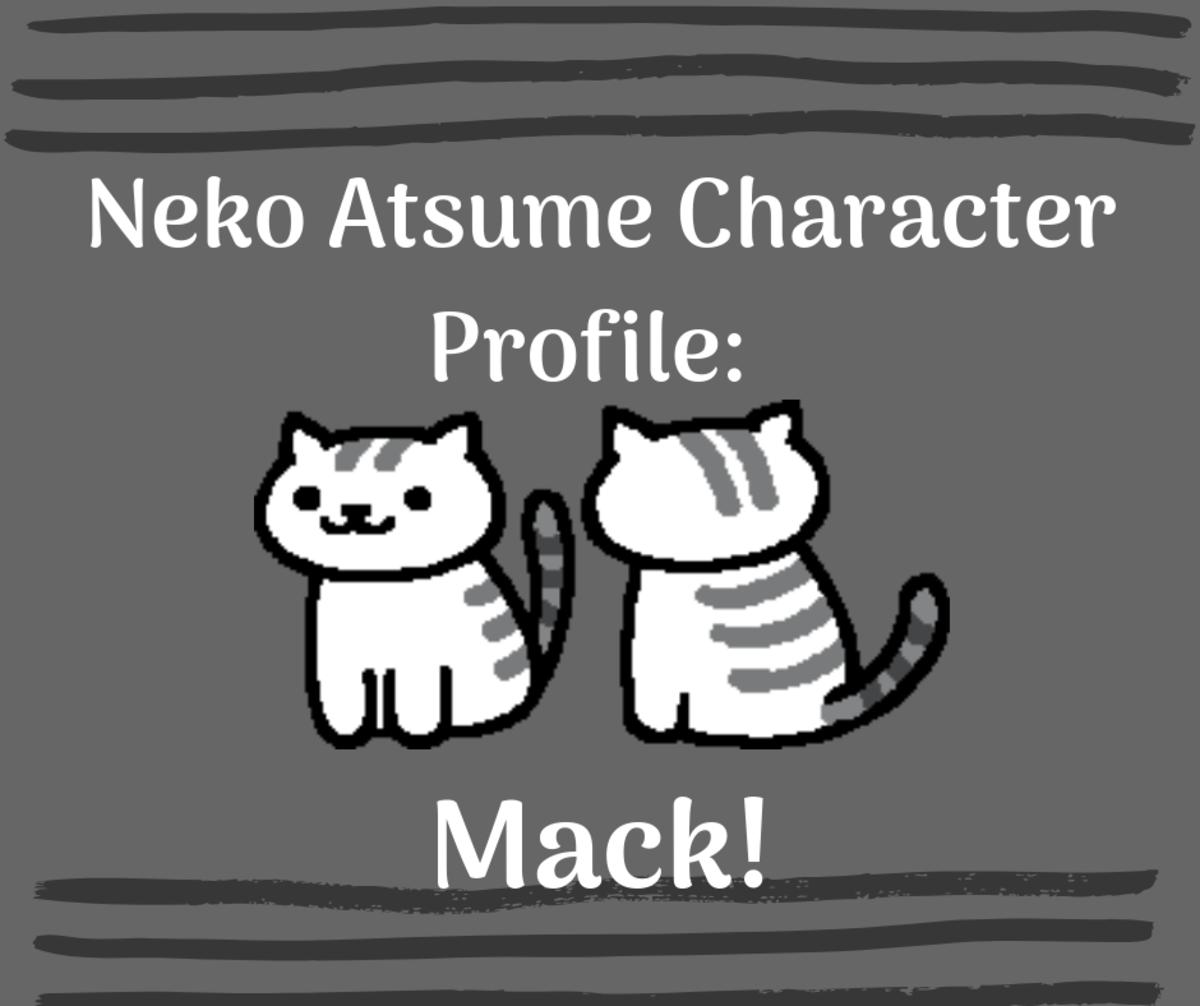 Neko Atsume Character Profile: Mack