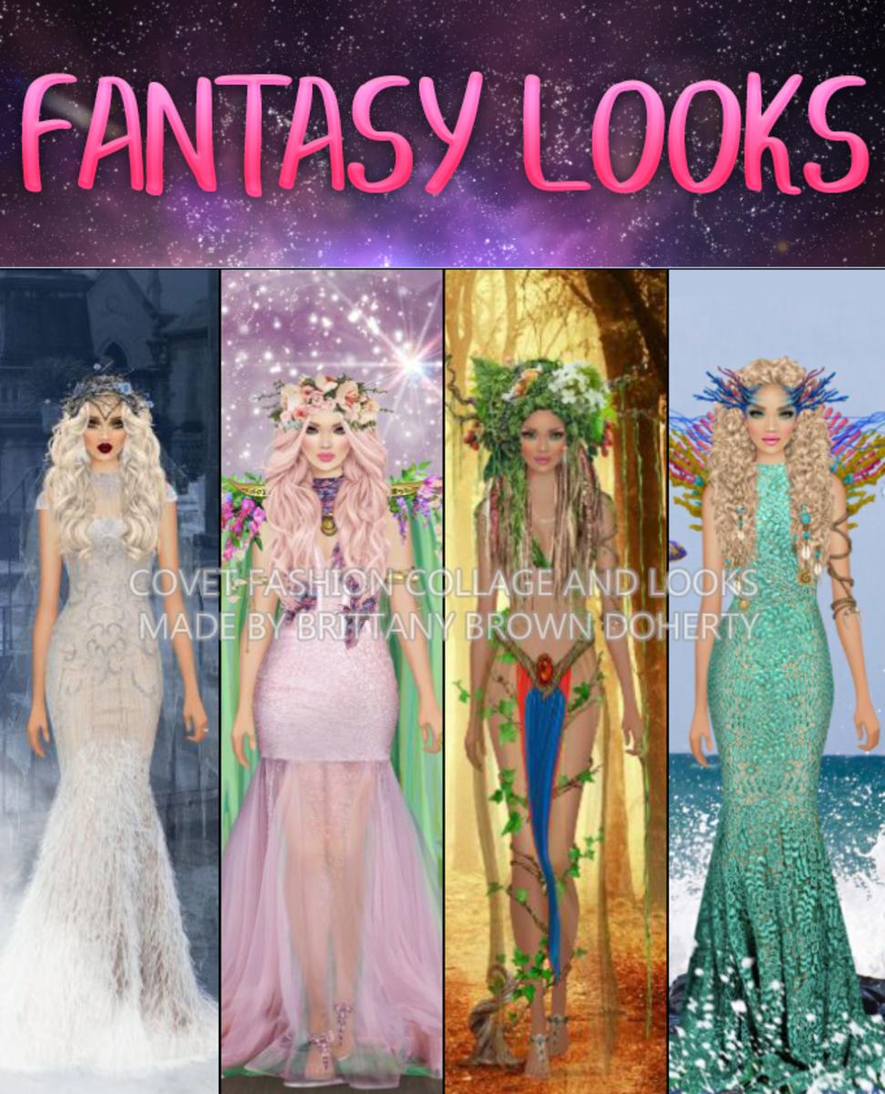 """""""Covet Fashion"""" Fantasy Looks"""