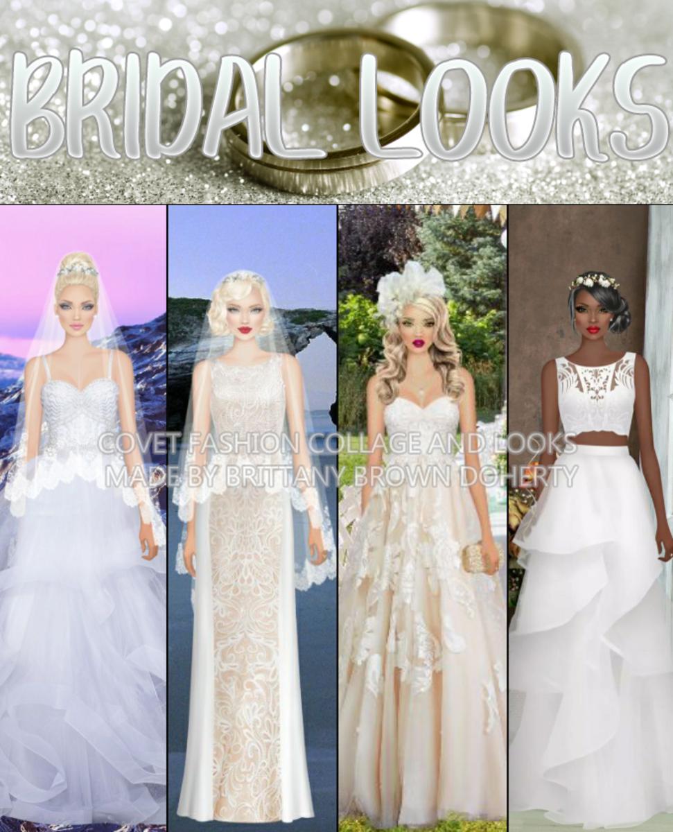 """""""Covet Fashion"""" Bridal/Wedding Looks"""
