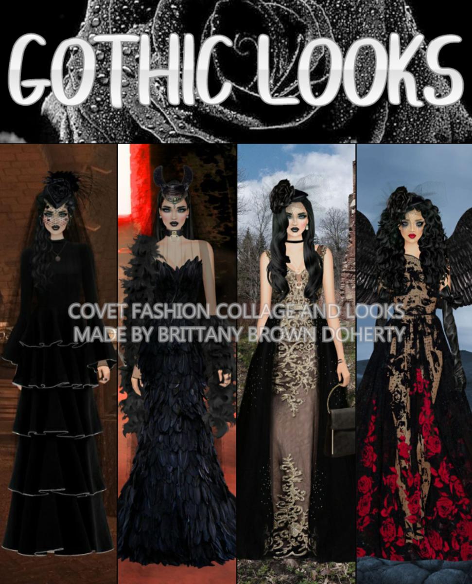 """""""Covet Fashion"""" Gothic Looks"""