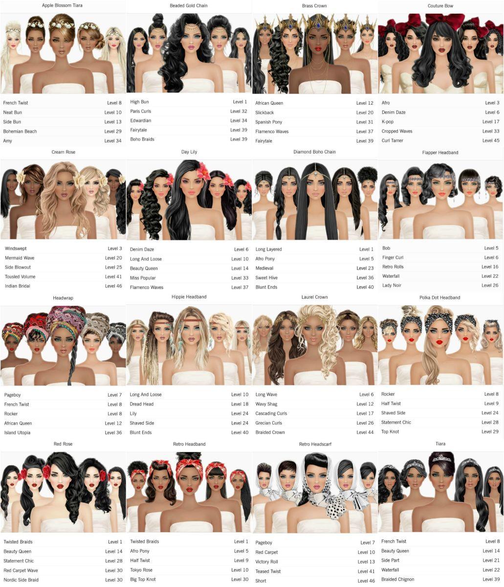 """""""Covet Fashion"""" Hair Accessories"""