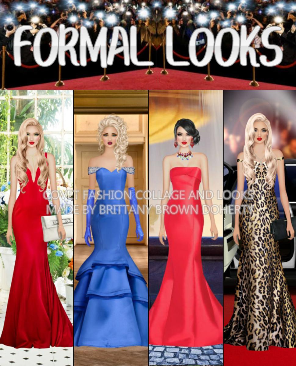 """""""Covet Fashion"""" Formal Looks"""