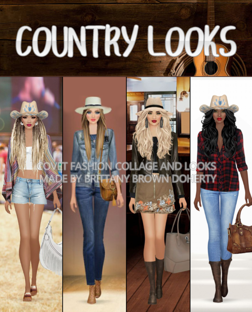 """Covet Fashion"" Country Looks"