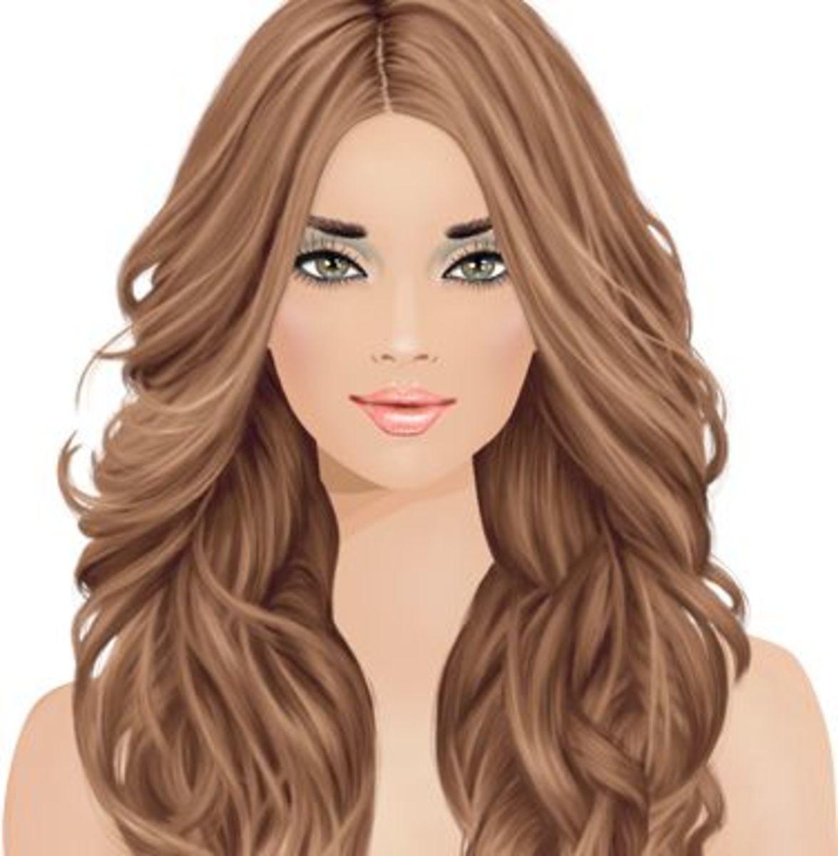 """Covet Fashion"" Cascading Curls"