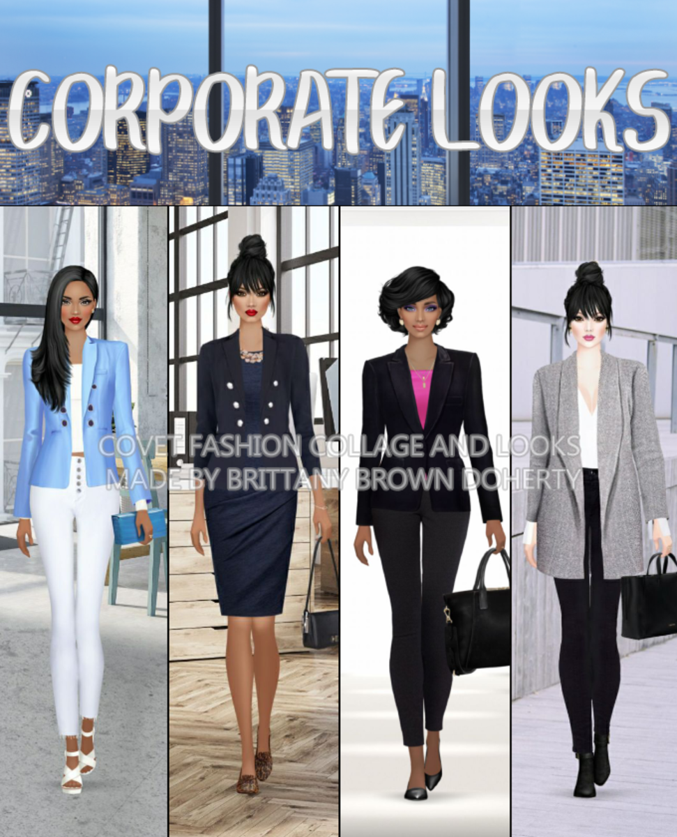 """Covet Fashion"" Corporate Looks"