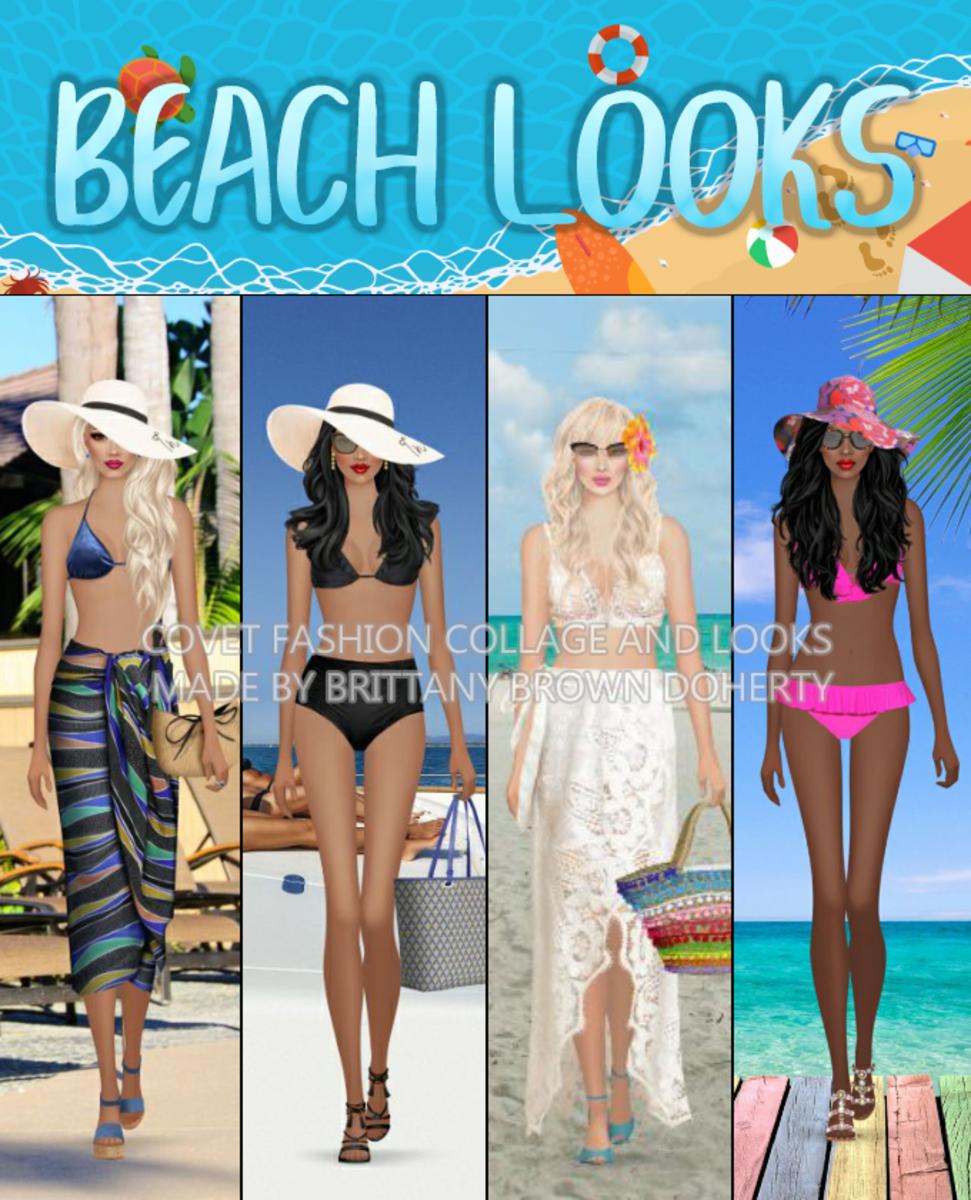 """""""Covet Fashion""""Beach Looks"""