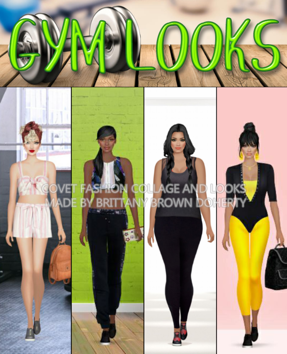 """Covet Fashion"" Fitness Looks"