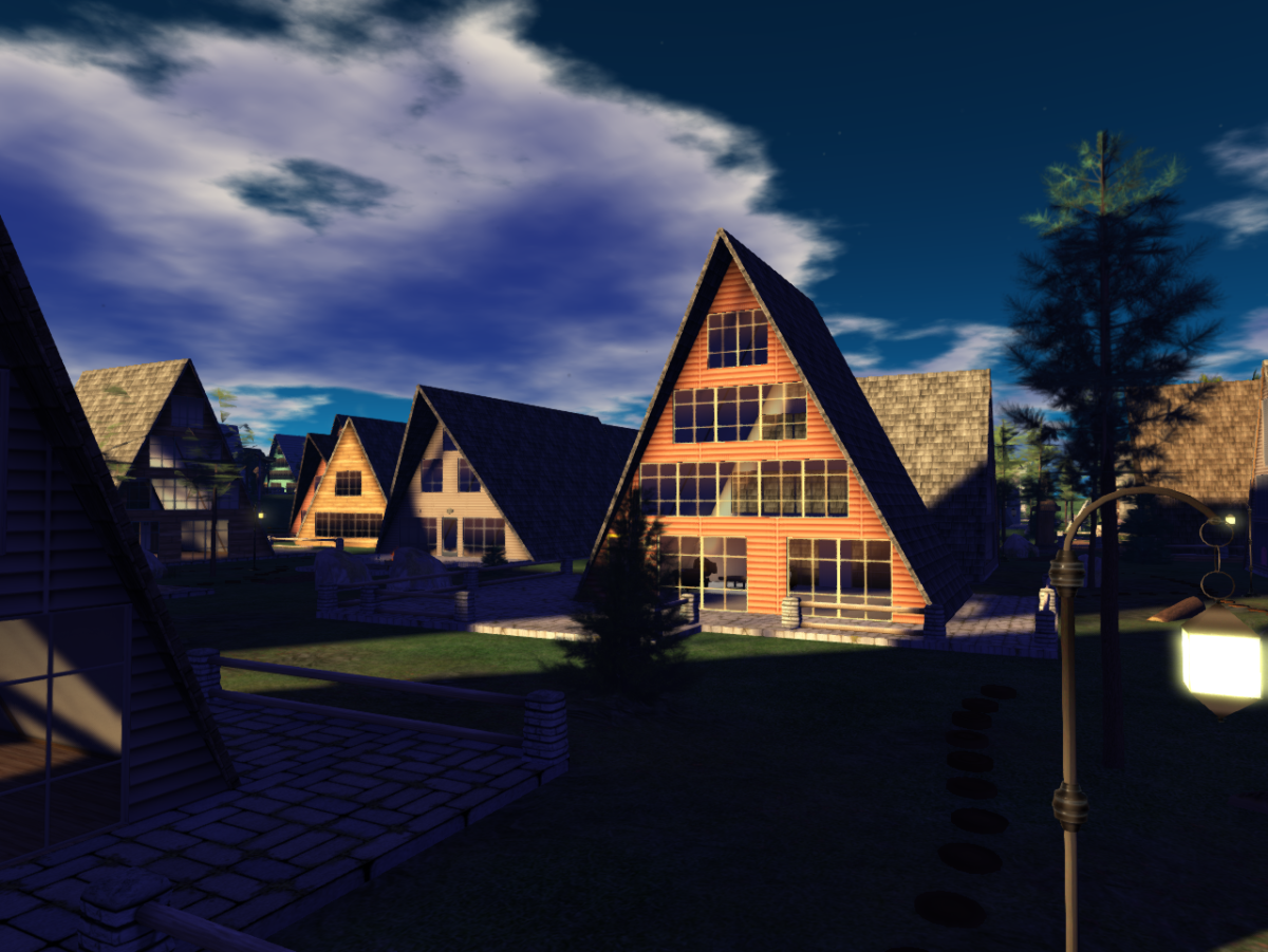 The Tahoe Springs Community in Second Life for Premium Members