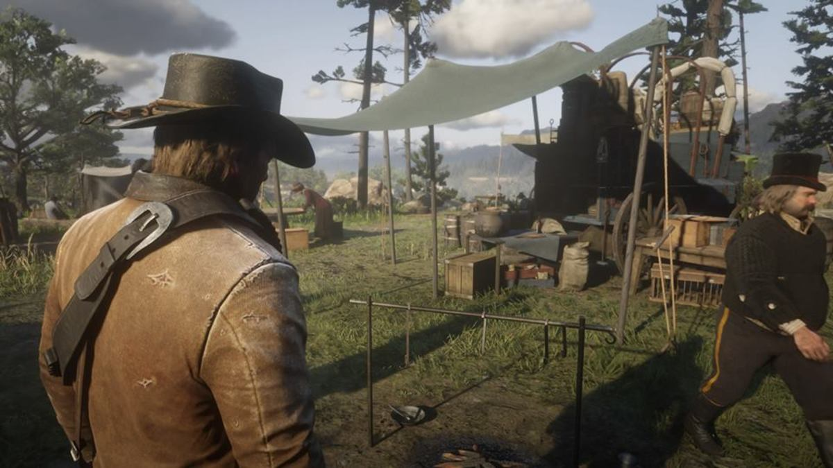 Dutch's Gang Camp in Horseshoe Overlook