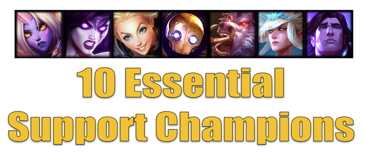 These support champions are a must know for anyone playing League of Legends