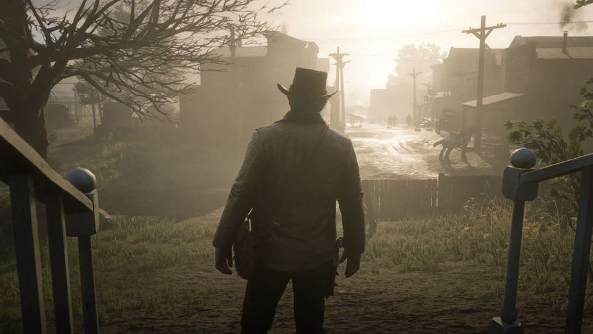 The town of Valentine in Red Dead Redemption 2