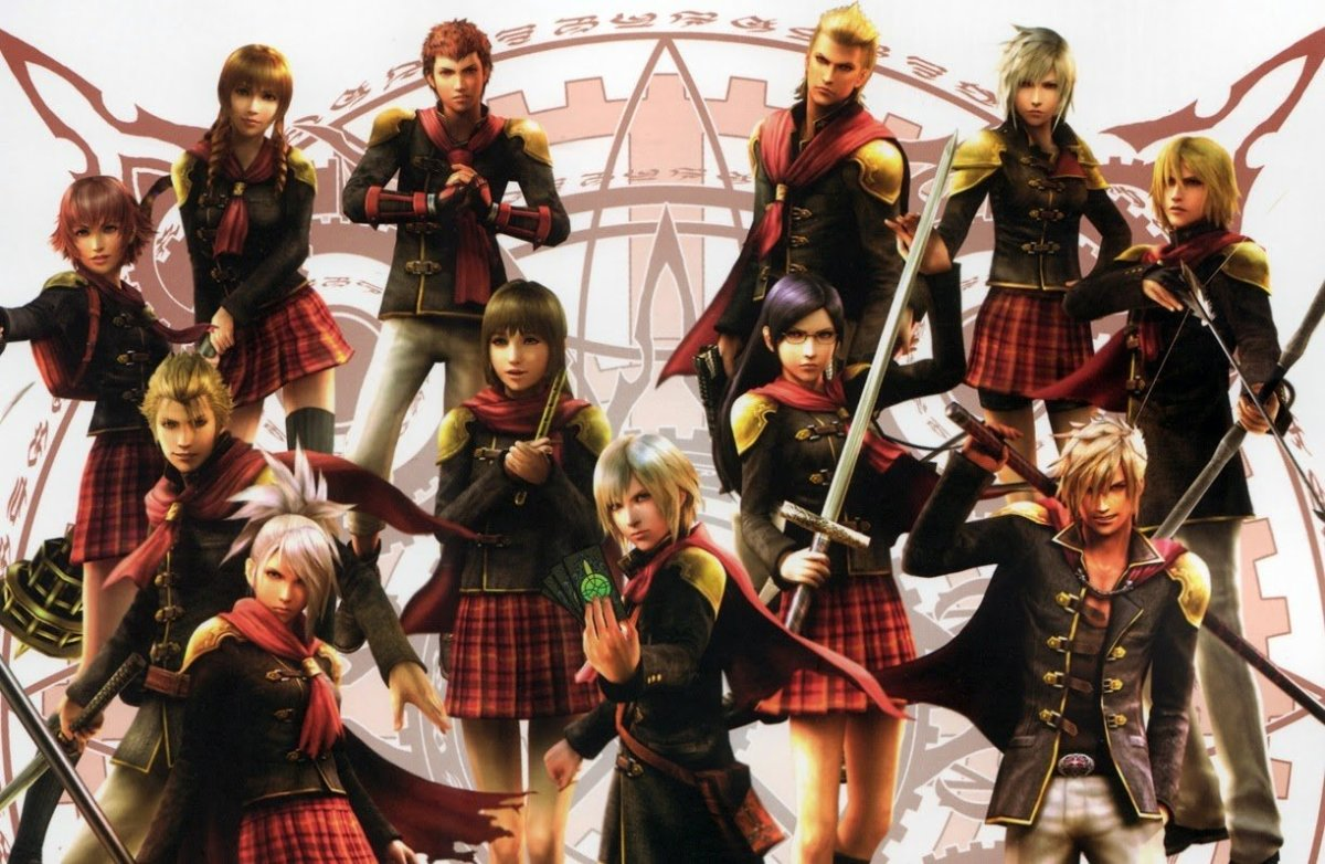 """Final Fantasy Type-0"" Characters"