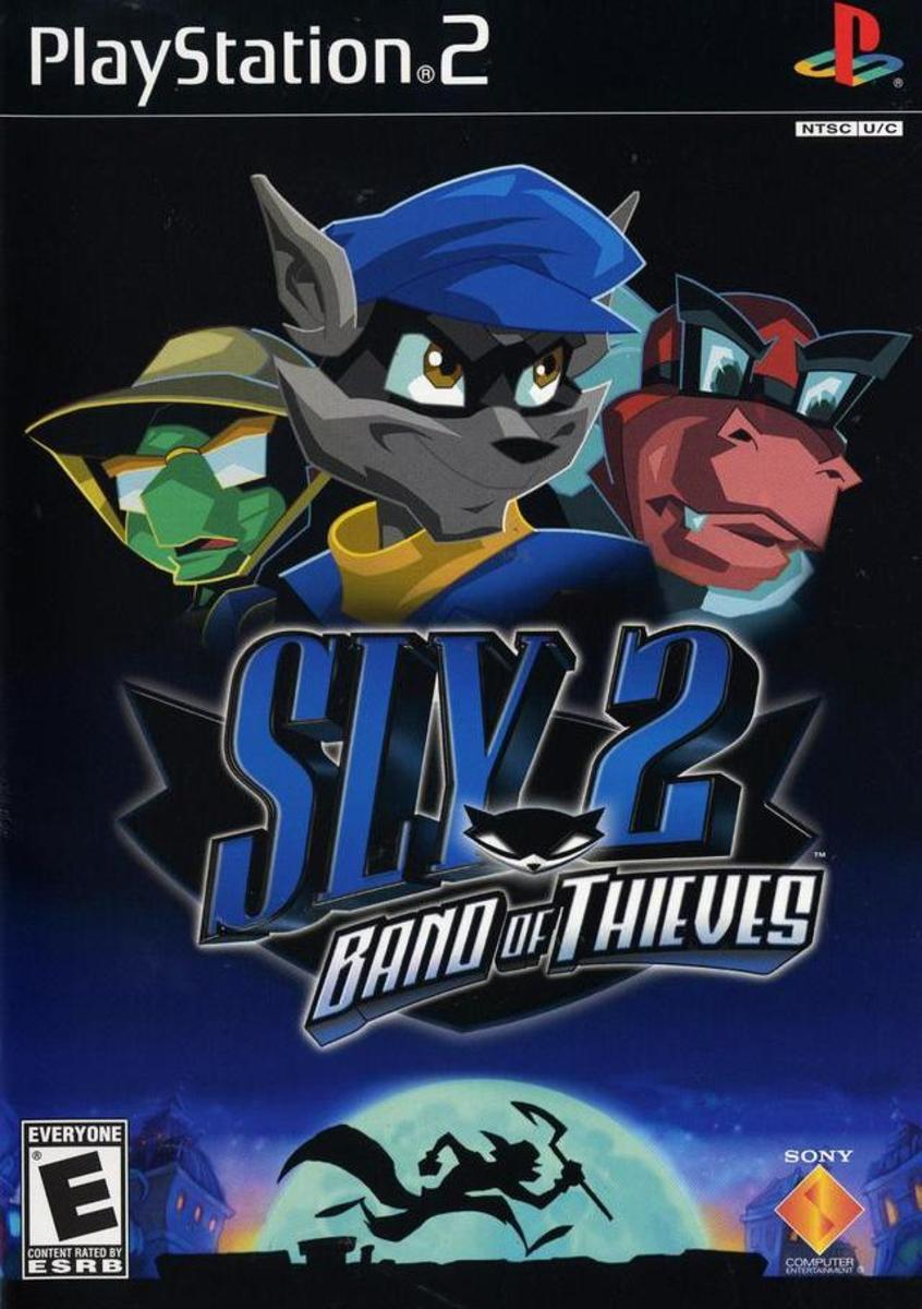 """Sly 2"" game cover."