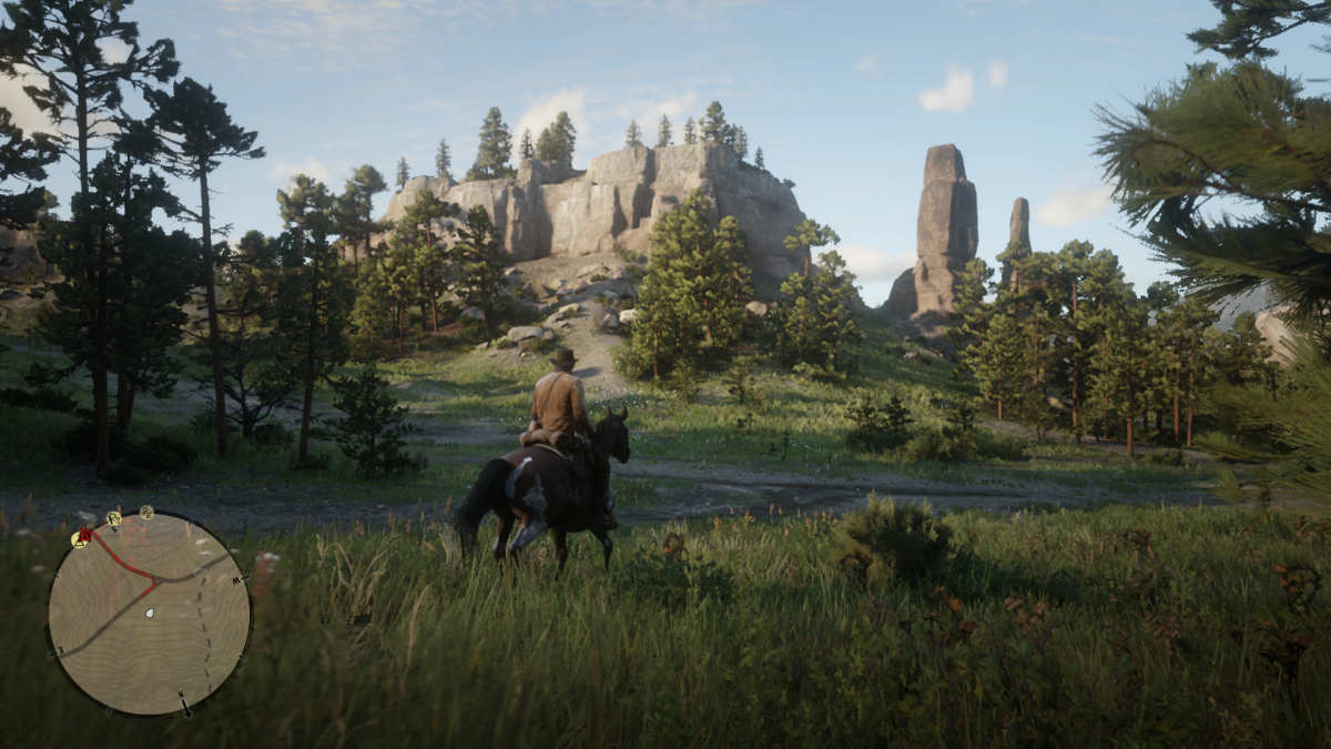 This is what you want to look for, It's North of Horseshoe Overlook (Main Camp in Chapter 2) and South of Valentine.