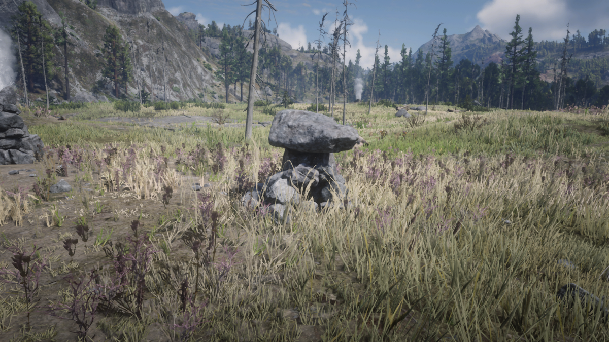 The treasure map is in THIS pile of rocks. Where is that exactly? Good luck buddy!