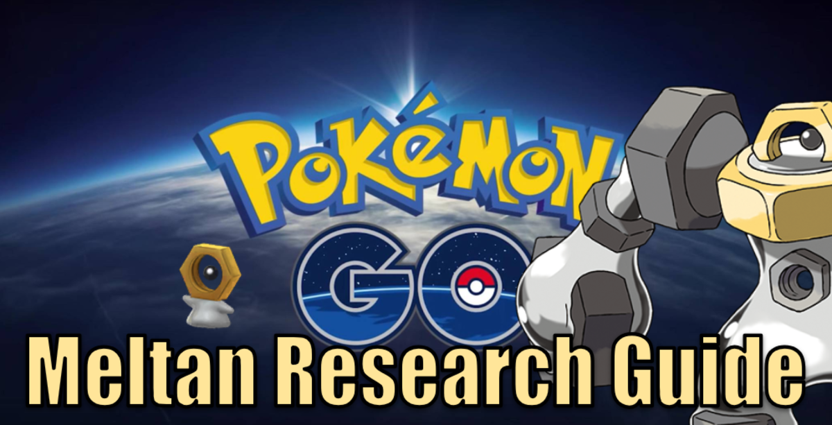 Pokemon Go Let's GO Meltan Research Guide