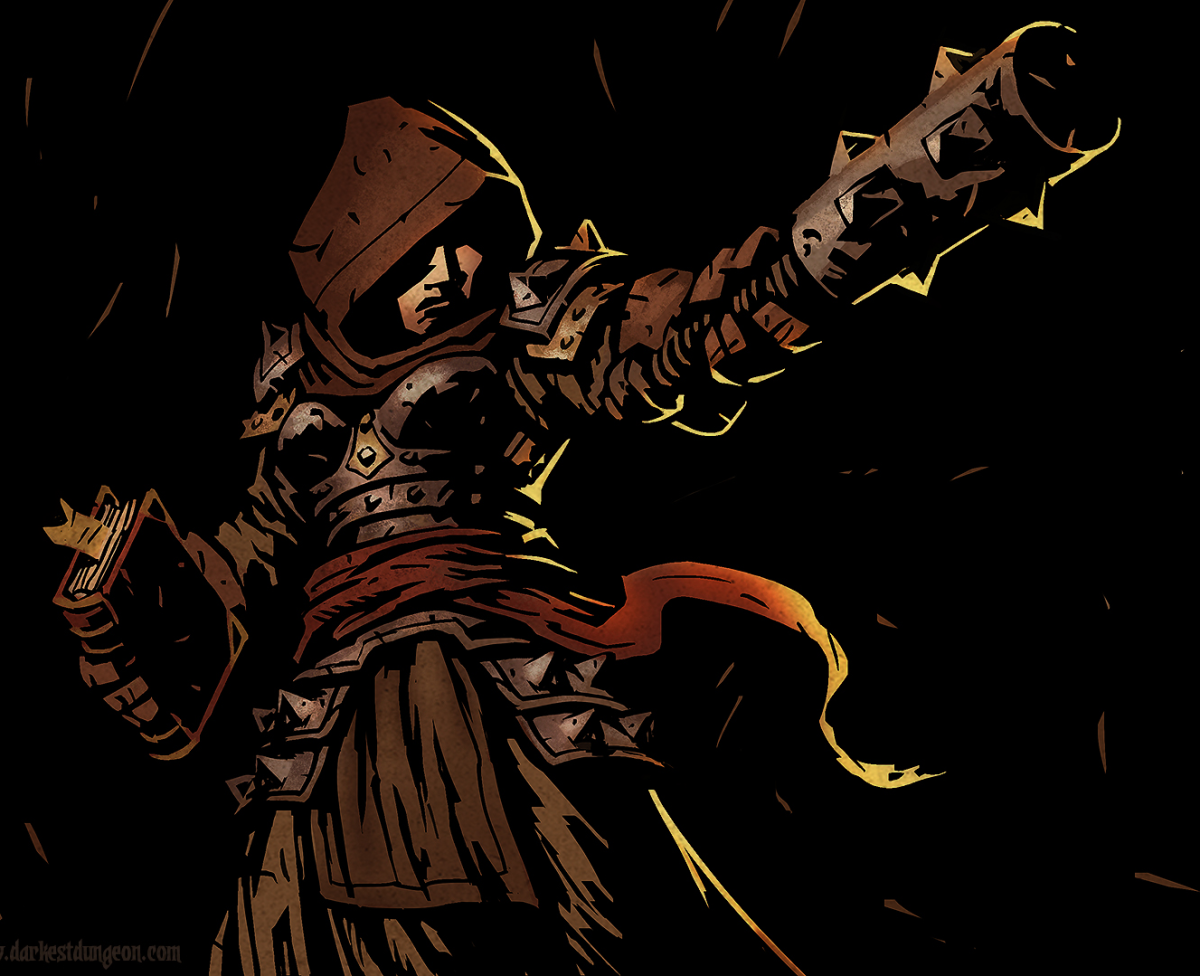 The Vestal in Darkest Dungeon