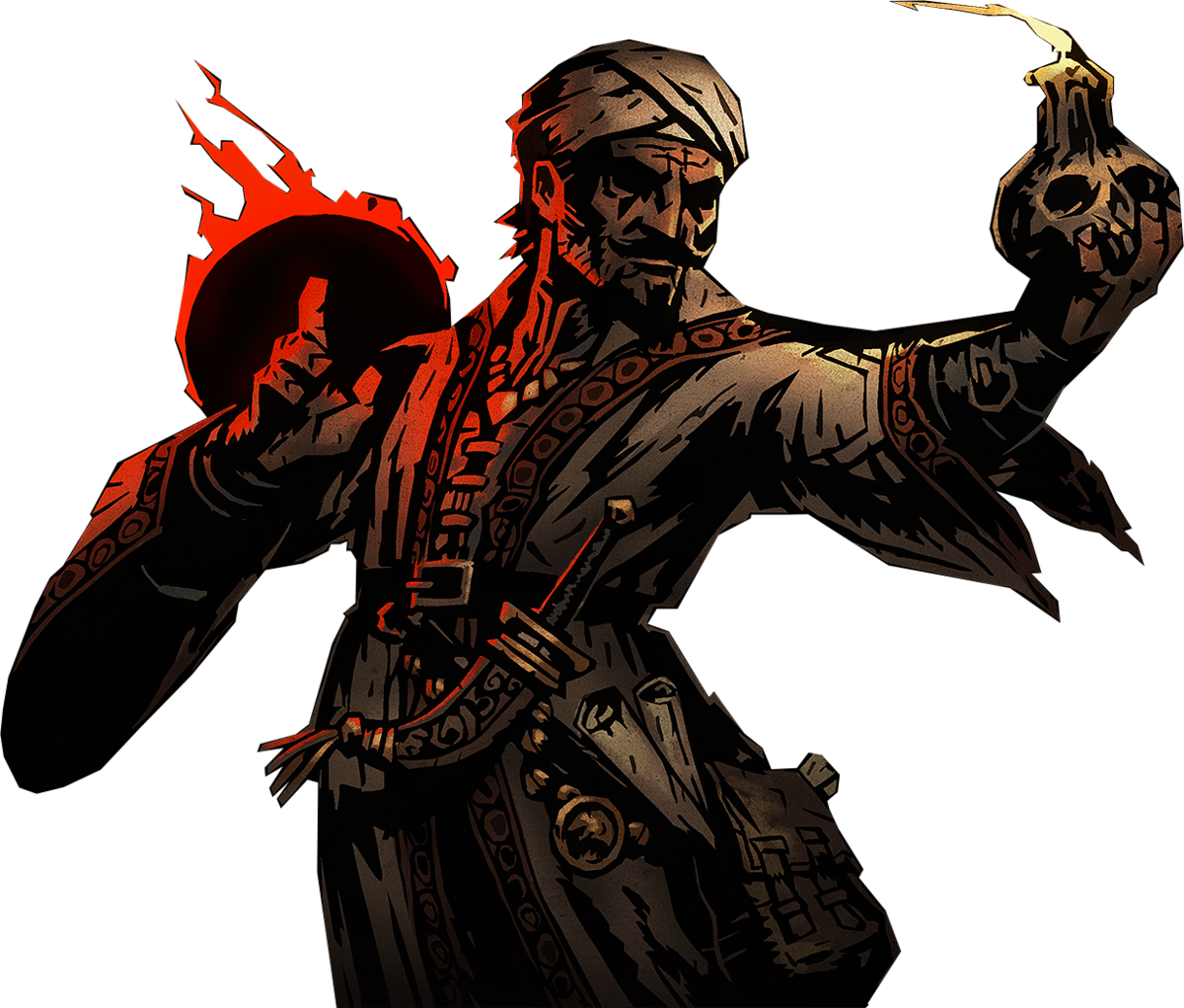 The Occultist in Darkest Dungeon