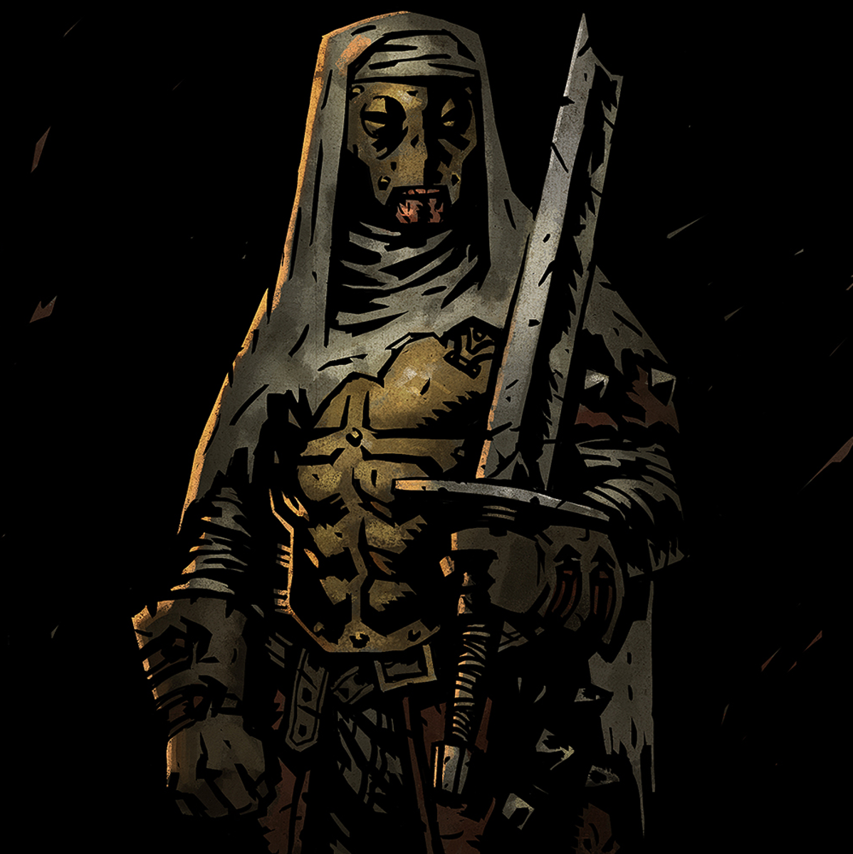 The Leper in Darkest Dungeon