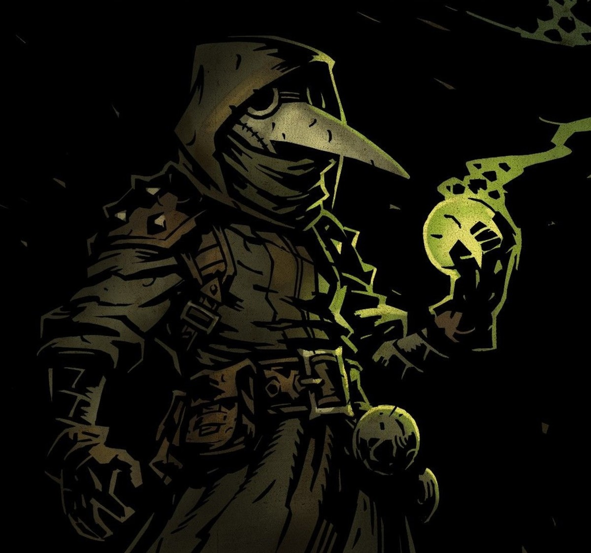The Plague Doctor in Darkest Dungeon
