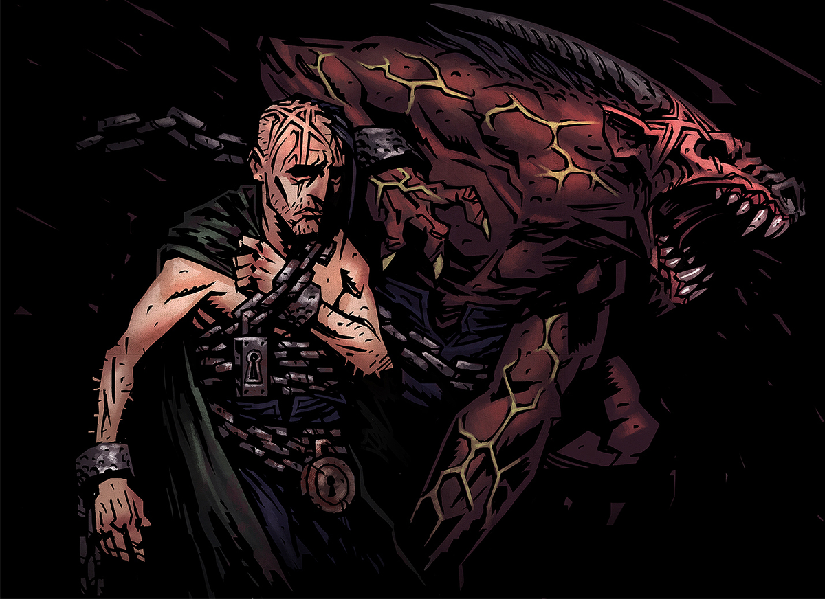 The Abomination in Darkest Dungeon