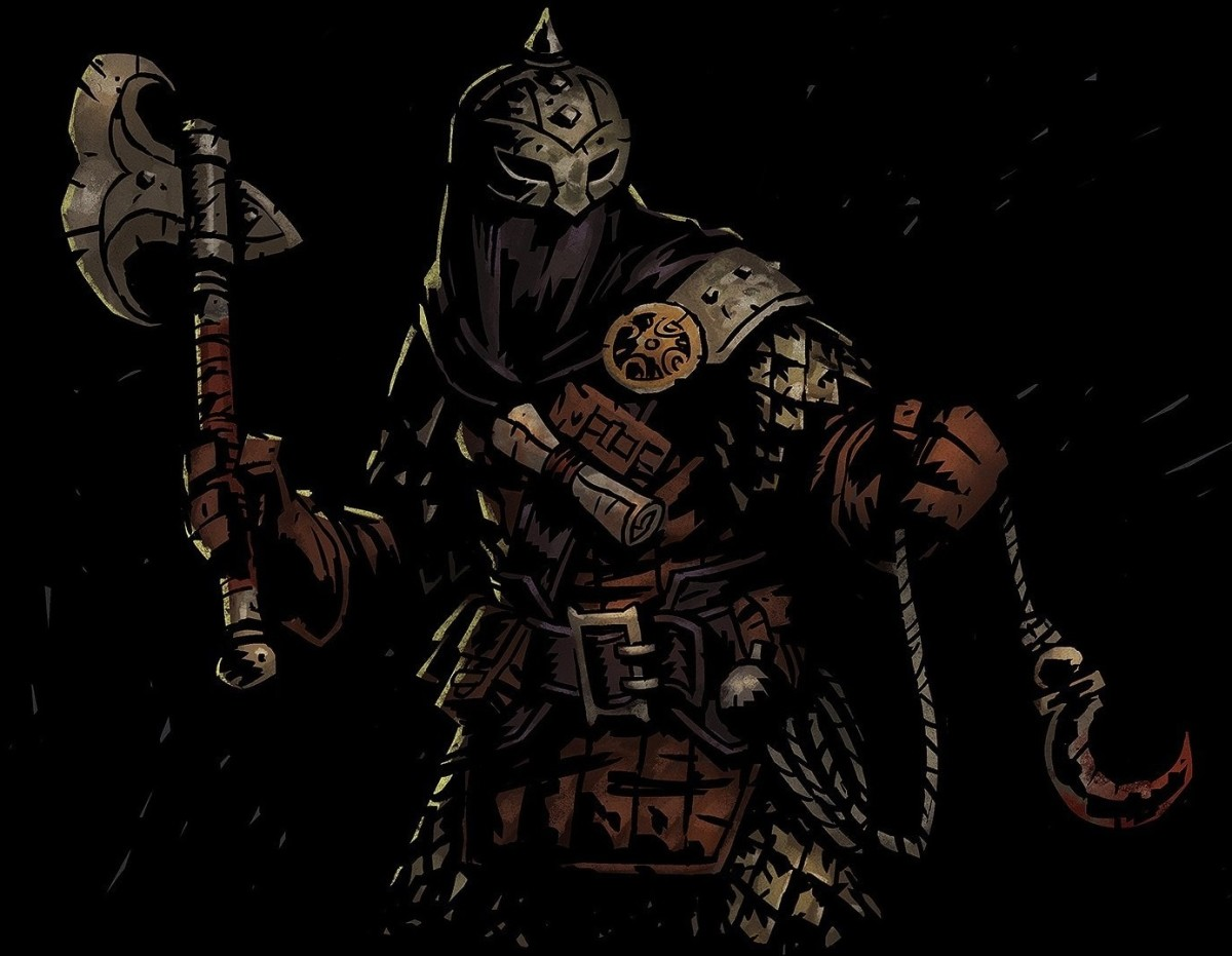 The Bounty Hunter in Darkest Dungeon