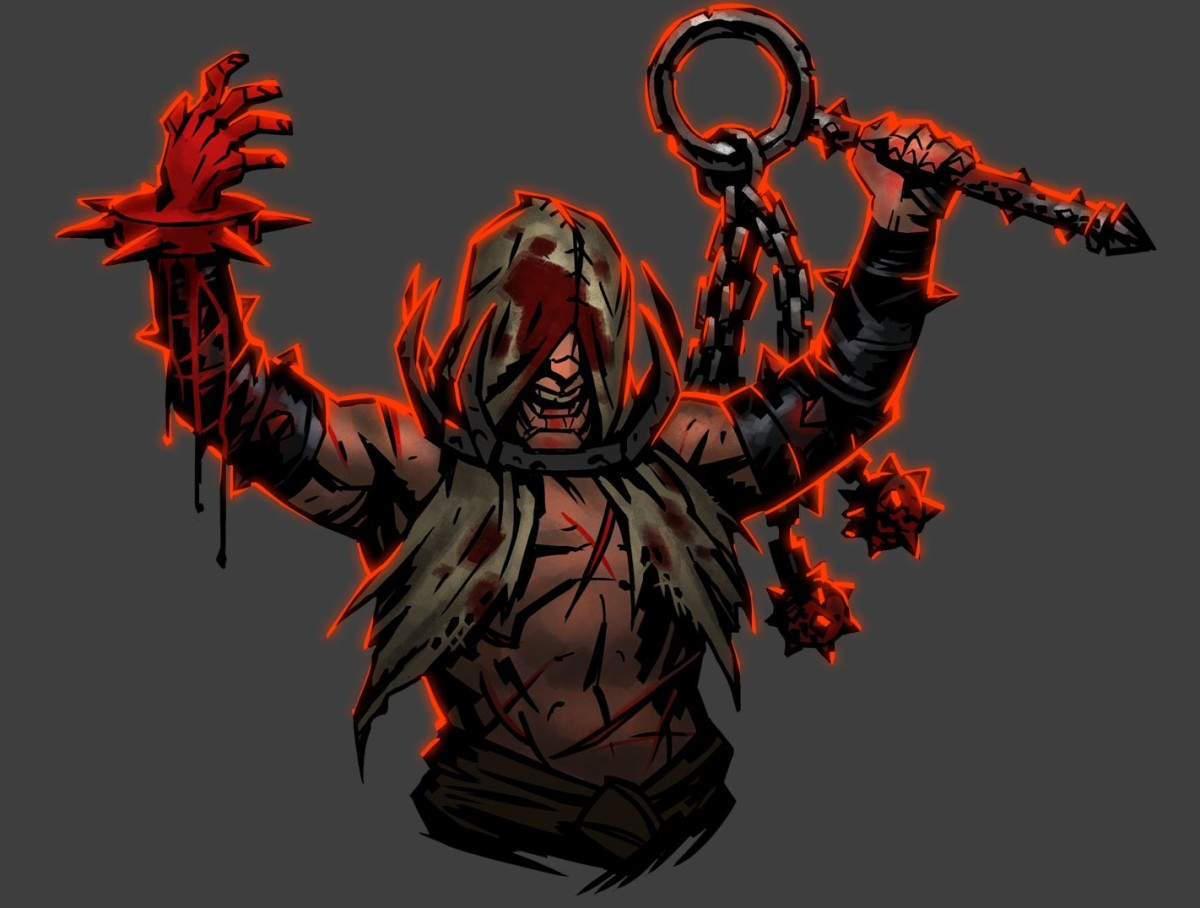 The Flagellant in Darkest Dungeon