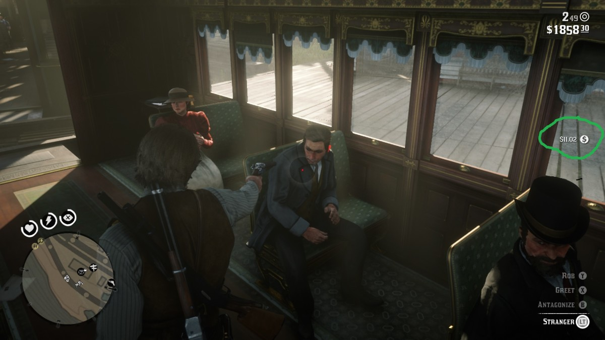 Taking a train from Saint Denis yields a good profit from each train passenger.