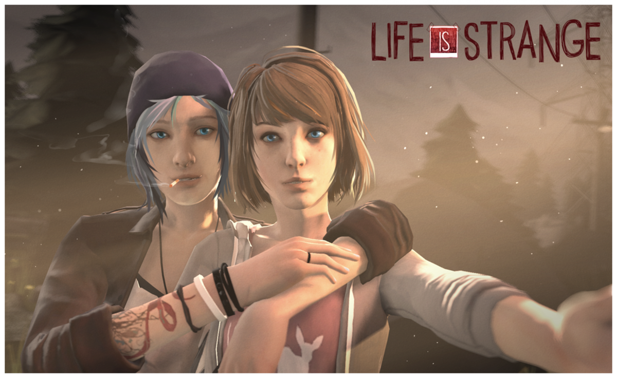 "Chloe and Max in ""Life is Strange"""