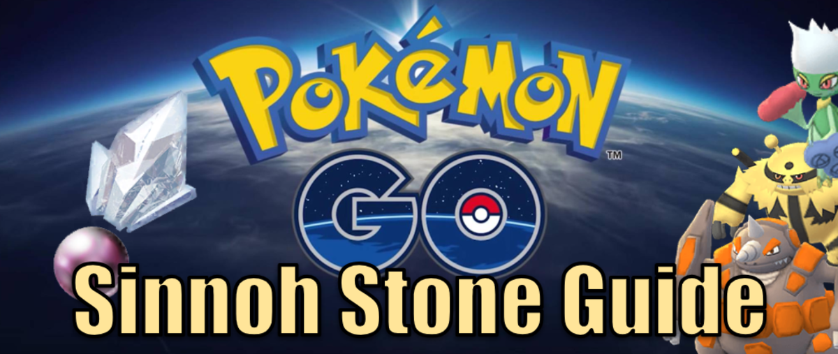 What Pokemon you can evolve with the generation 4 Sinnoh Stone