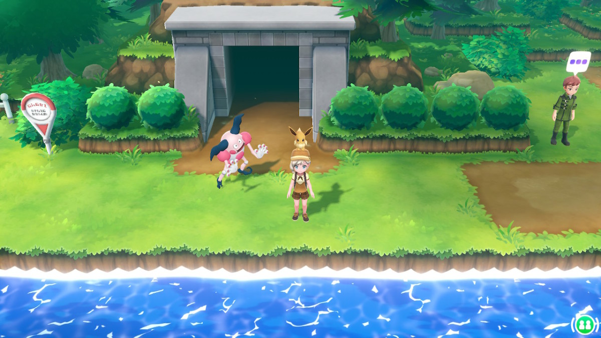 You can see wild Pokemon on screen. No random battles!
