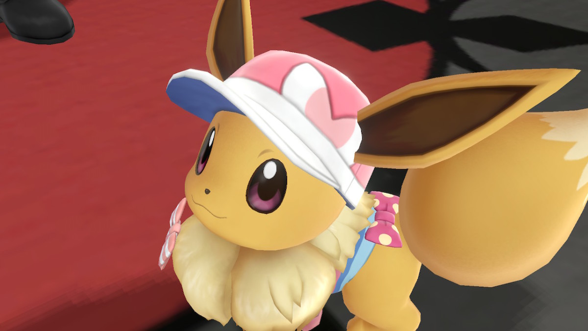Dress Eevee or Pikachu up in cute outfits and accessories.