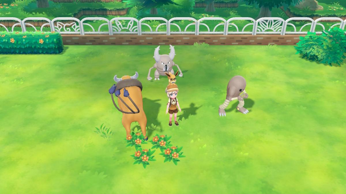 Send Pokemon from Pokemon Go to Let's Go.