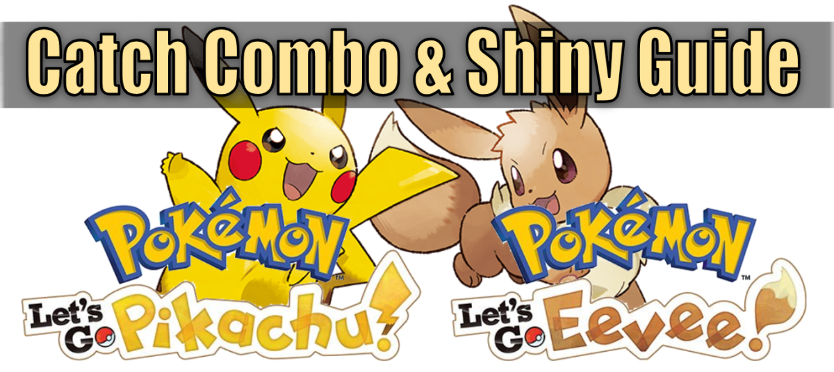 """Pokemon Let's Go"" Shiny & Catch Combo Guide"
