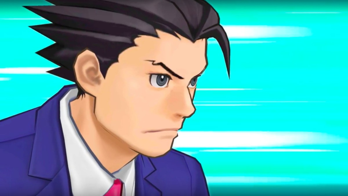 Image of Phoenix Wright from the sixth entry in the popular series.