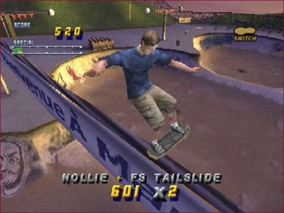 """""""Tony Hawk's Pro Skater 2"""""""