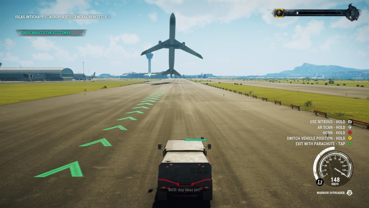 This is how planes take off