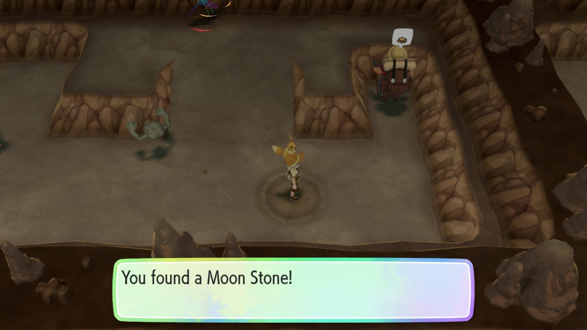 I've found a Moon Stone here twice!