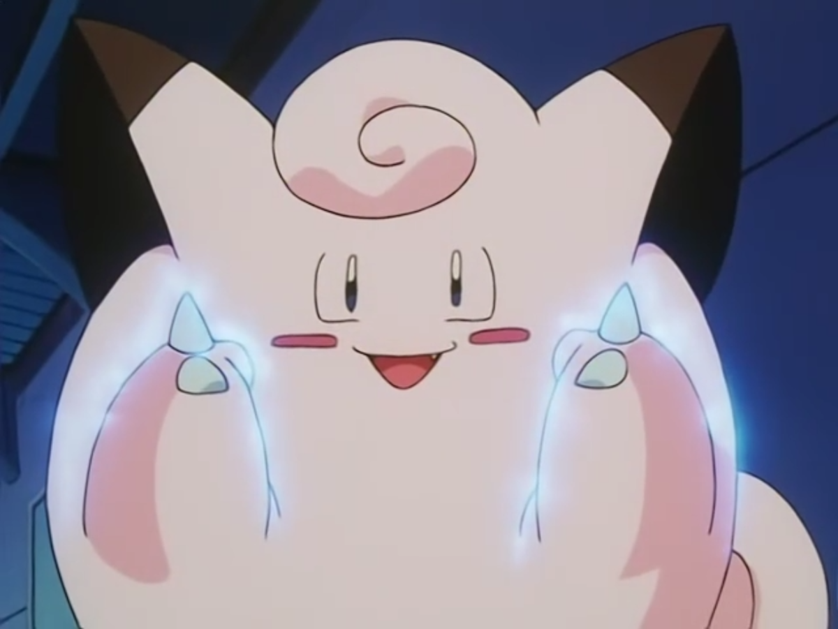 Clefairy using Metronome