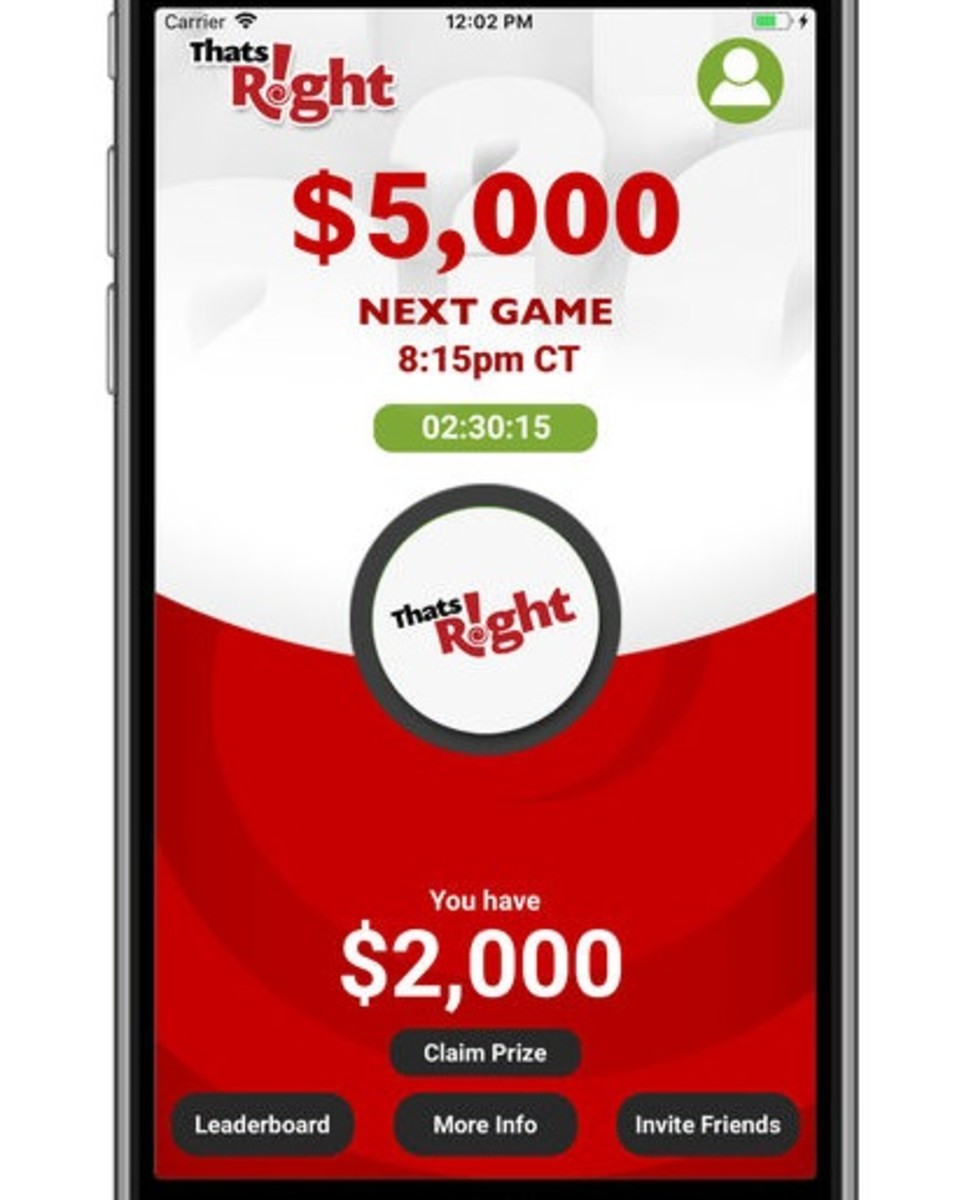"""10 Tips to Win Free Money With the """"That's Right!"""" Trivia App"""