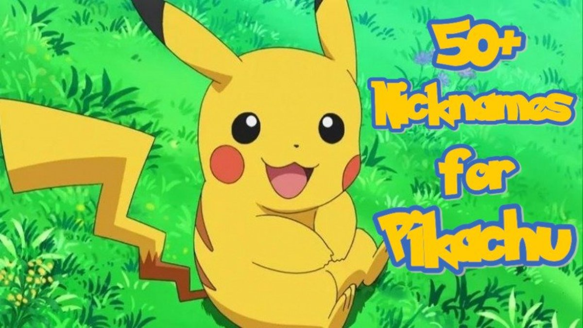 Nicknames for Pikachu