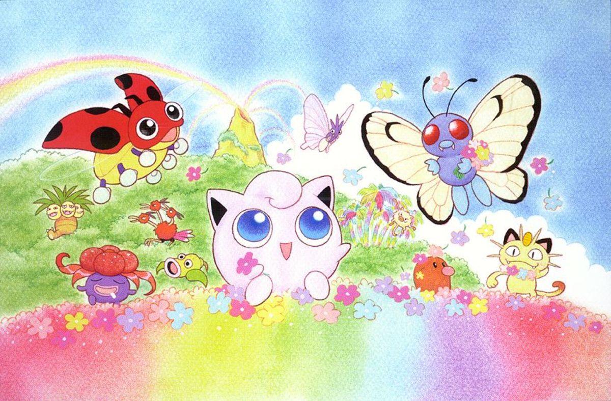 Jigglypuff is a Normal/Fairy type Pokemon